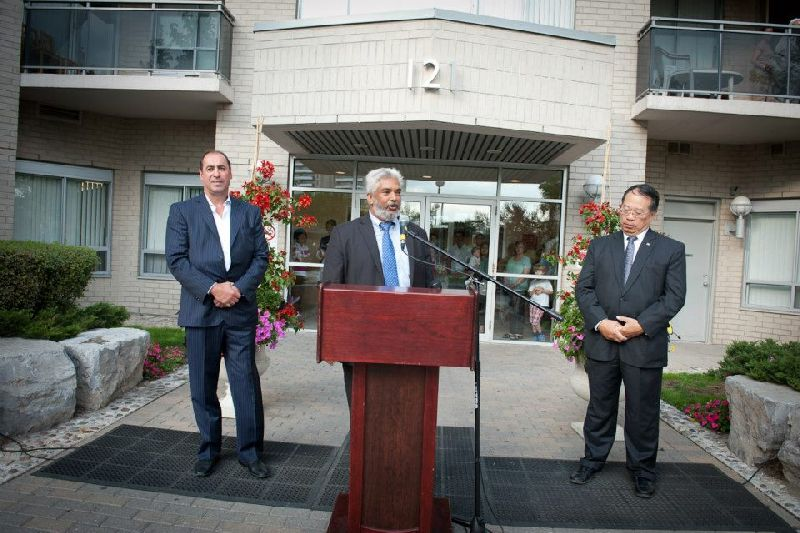 121 Parkway Forest - flag raising (13)
