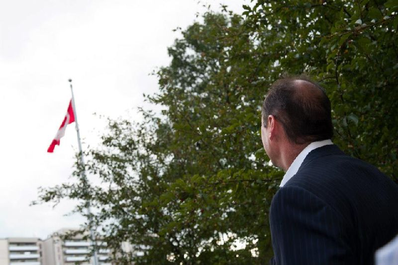 121 Parkway Forest - flag raising (22)