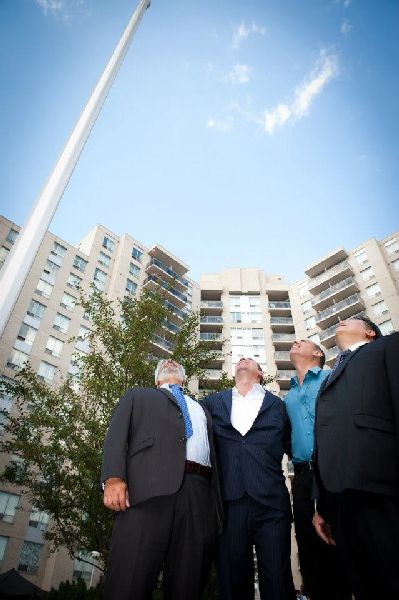 121 Parkway Forest - flag raising (30)