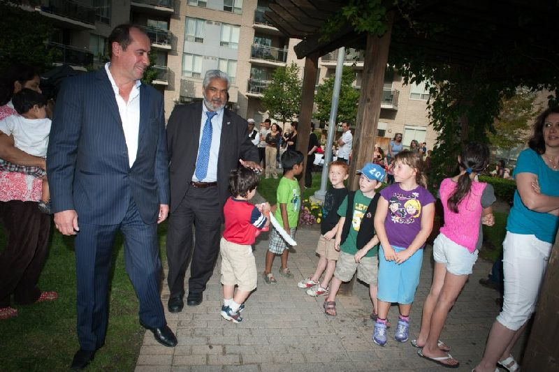121 Parkway Forest - flag raising (7)